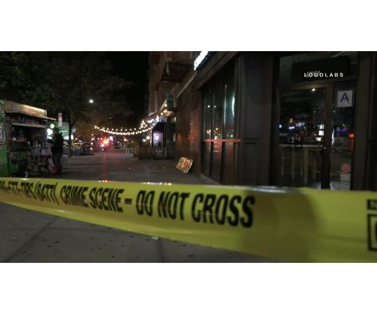 Tres personas fueron balaceadas en una calle de Inwood